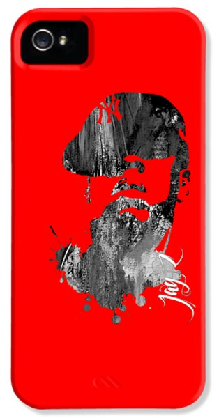 Jay Z Collection IPhone 5s Case by Marvin Blaine