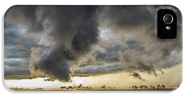 Nebraskasc iPhone 5s Case - 3rd Storm Chase Of 2018 051 by NebraskaSC