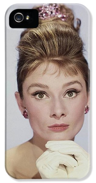 Audrey Hepburn IPhone 5s Case by John Springfield