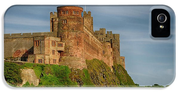 Castle iPhone 5s Case - Bamburgh Castle by Smart Aviation