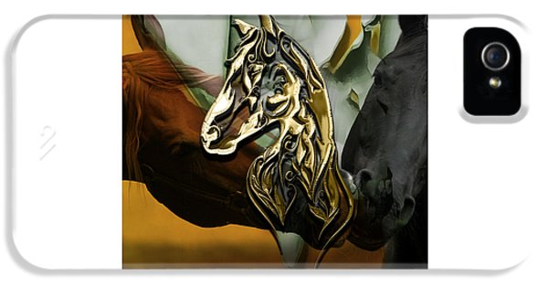 Horse iPhone 5s Case - Horse Art Collection by Marvin Blaine