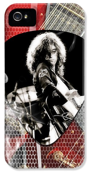Jimmy Page Art IPhone 5s Case