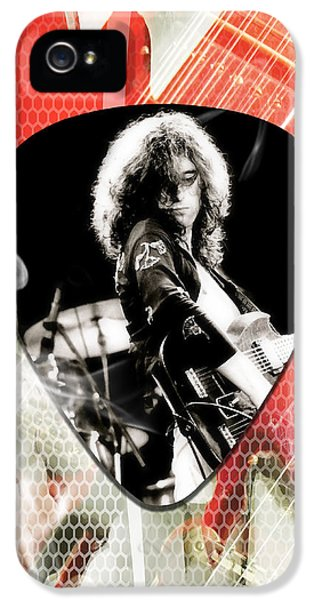Jimmy Page Led Zeppelin Art IPhone 5s Case