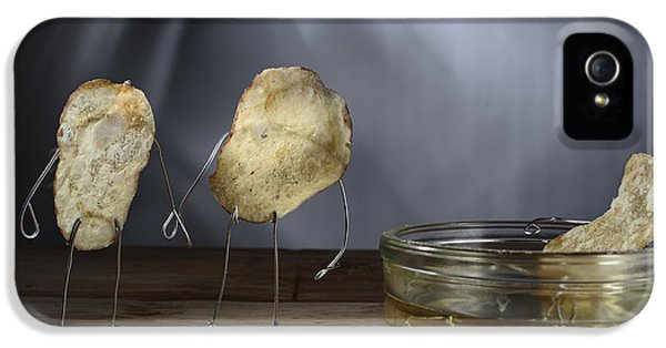 Simple Things - Potatoes IPhone 5s Case by Nailia Schwarz