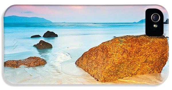 Water Ocean iPhone 5s Case - Sunrise by MotHaiBaPhoto Prints