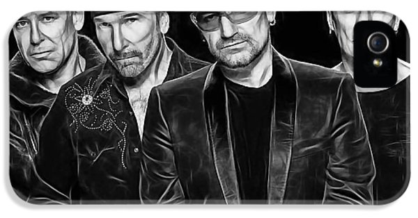 U2 Collection IPhone 5s Case by Marvin Blaine