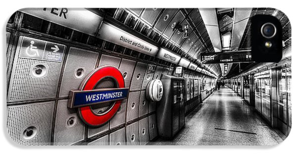 Underground London IPhone 5s Case by David Pyatt