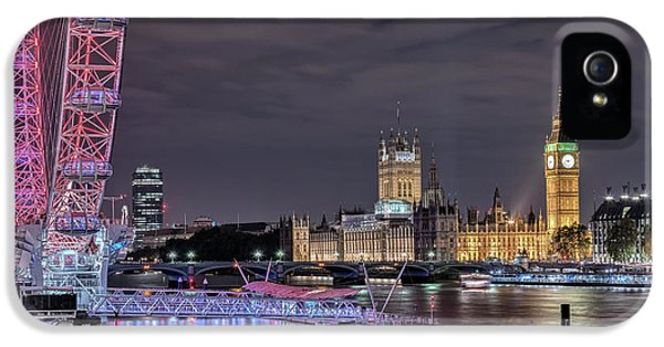 Westminster - London IPhone 5s Case by Joana Kruse