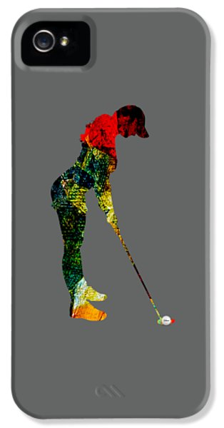 Womens Golf Collection IPhone 5s Case by Marvin Blaine