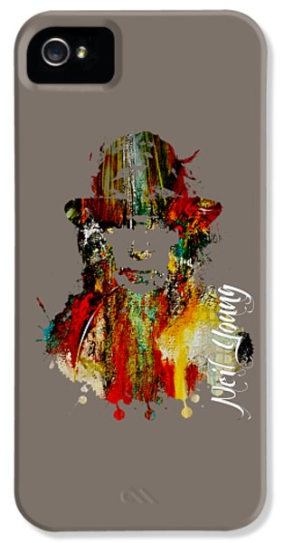 Neil Young Collection IPhone 5s Case by Marvin Blaine