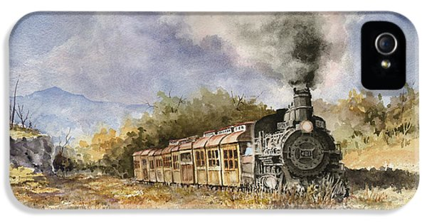 Train iPhone 5s Case - 481 From Durango by Sam Sidders