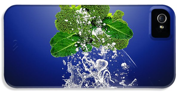 Broccoli Splash IPhone 5s Case