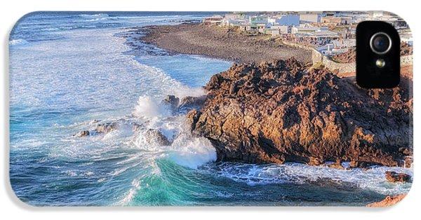 Canary iPhone 5s Case - El Golfo - Lanzarote by Joana Kruse