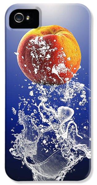 Peach Splash IPhone 5s Case
