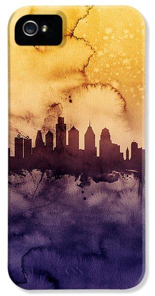 Philadelphia Pennsylvania Skyline IPhone 5s Case