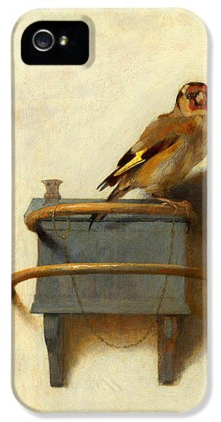 Meadowlark iPhone 5s Case - The Goldfinch by Carel Fabritius
