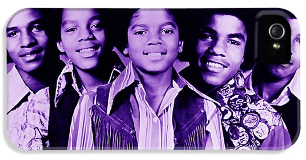 The Jackson 5 Collection IPhone 5s Case by Marvin Blaine