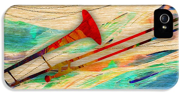 Trombone Collection IPhone 5s Case by Marvin Blaine