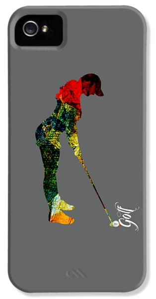 Womens Golf Collection IPhone 5s Case