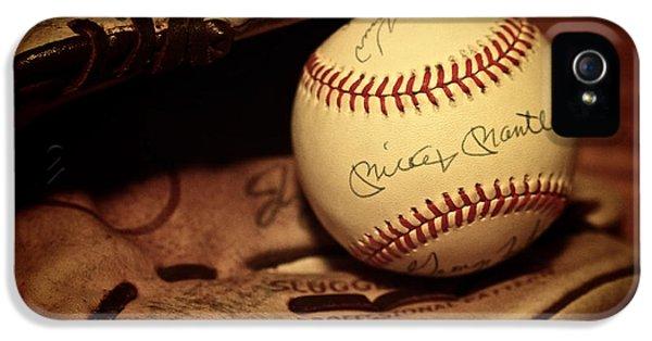 50 Home Run Baseball IPhone 5s Case by Mark Miller