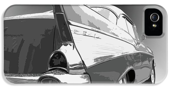 Dick Goodman iPhone 5s Case - 57 Chevy by Dick Goodman