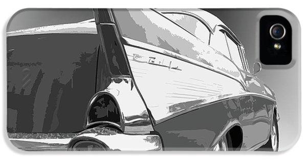Dick Goodman iPhone 5s Case - 57 Chevy Horizontal by Dick Goodman