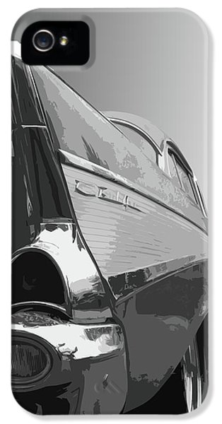 Dick Goodman iPhone 5s Case - 57 Chevy Verticle by Dick Goodman