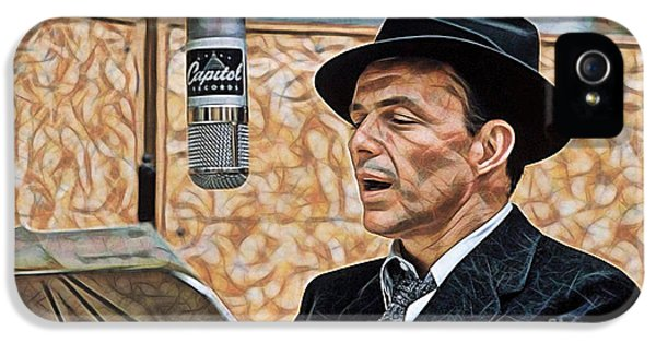 Frank Sinatra Collection IPhone 5s Case by Marvin Blaine