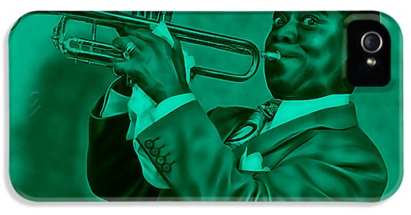 Louis Armstrong Collection IPhone 5s Case by Marvin Blaine