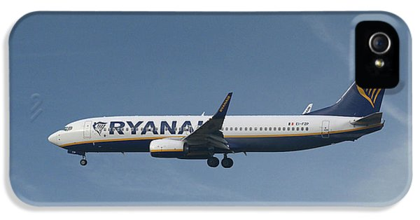 Jet iPhone 5s Case - Ryanair Boeing 737-8as  by Smart Aviation