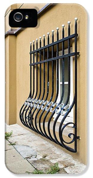 Dungeon iPhone 5s Case - Window Bars by Tom Gowanlock