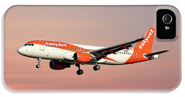 Jet iPhone 5s Case - Easyjet Airbus A320-214 by Smart Aviation