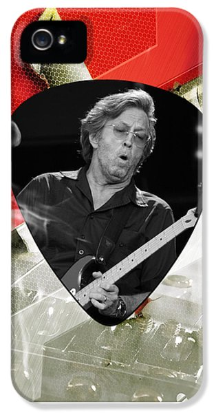 Eric Clapton Art IPhone 5s Case by Marvin Blaine