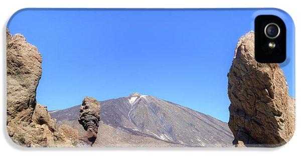 Canary iPhone 5s Case - Tenerife - Mount Teide by Joana Kruse
