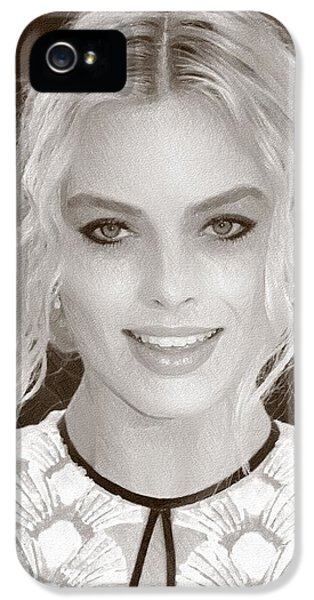 Actress Margot Robbie IPhone 5s Case by Best Actors