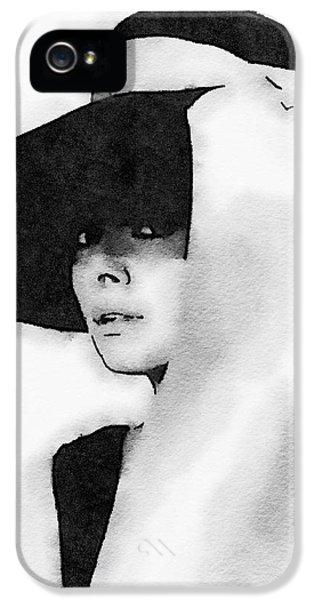 Audrey Hepburn IPhone 5s Case by John Springfield