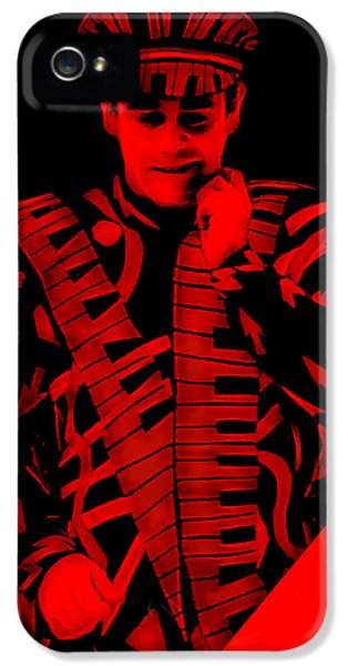 Elton John Collection IPhone 5s Case by Marvin Blaine