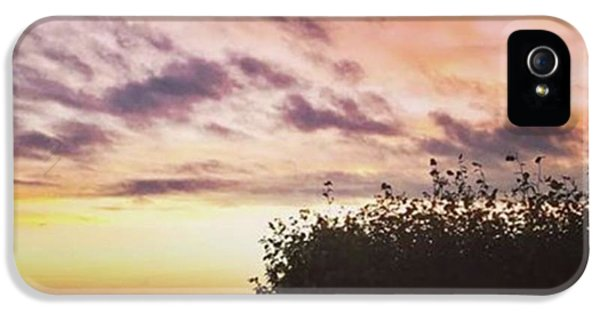 iPhone 5s Case - A Beautiful Morning Sky At 06:30 This by John Edwards