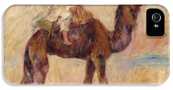 A Camel IPhone 5s Case by Pierre Auguste Renoir