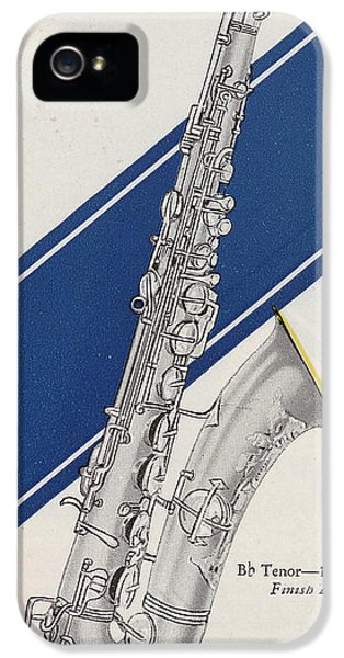 A Charles Gerard Conn Bb Tenor IPhone 5s Case