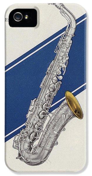 A Charles Gerard Conn Eb Alto Saxophone IPhone 5s Case