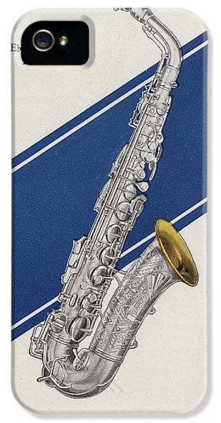 A Charles Gerard Conn Eb Alto Saxophone IPhone 5s Case by American School