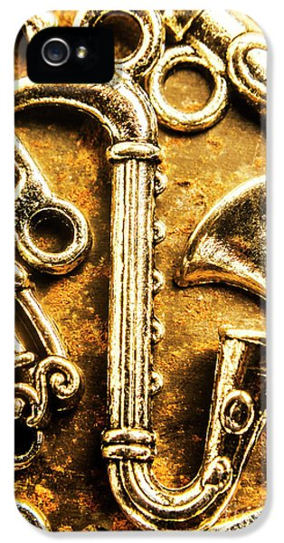 Saxophone iPhone 5s Case - A Classical Composition by Jorgo Photography - Wall Art Gallery