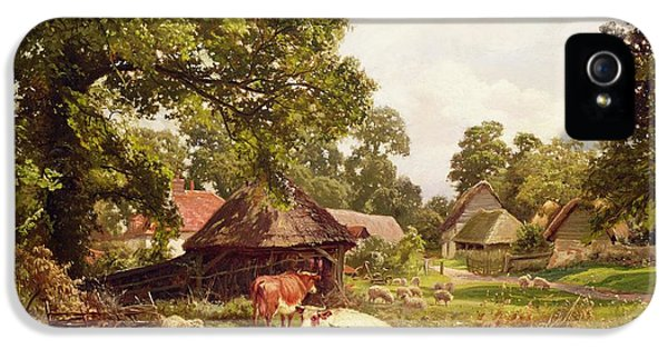 A Cottage Home In Surrey IPhone 5s Case by Edward Henry Holder