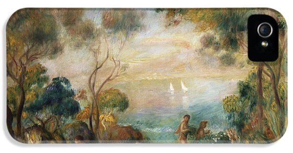 A Garden In Sorrento IPhone 5s Case by Pierre Auguste Renoir