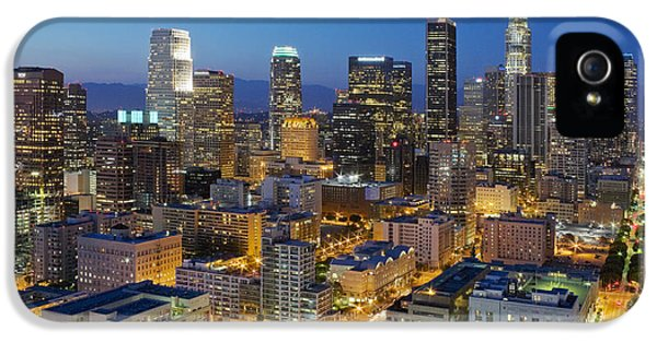 A Night In L A IPhone 5s Case by Kelley King