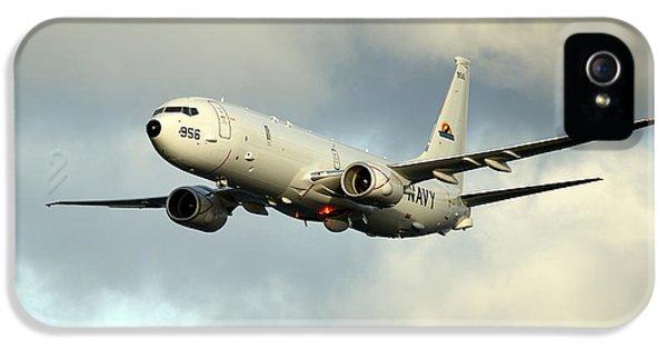 A P-8a Poseidon In Flight IPhone 5s Case