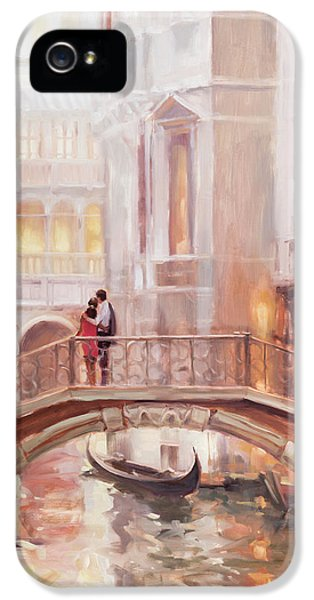 Nostalgia iPhone 5s Case - A Perfect Afternoon In Venice by Steve Henderson