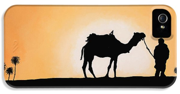 Camel iPhone 5s Case - A Spasso Col Cammello by Guido Borelli