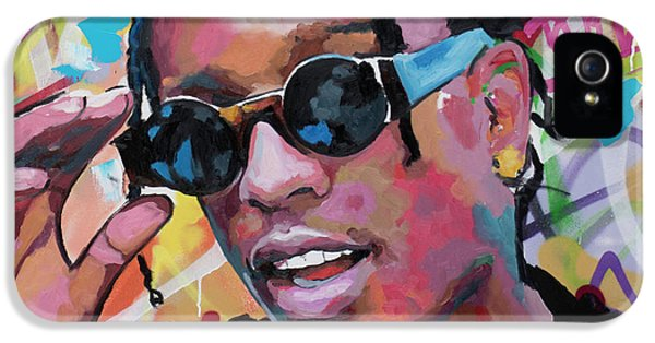 Harlem iPhone 5s Case - A$ap Rocky by Richard Day